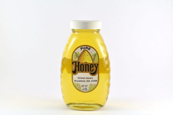 1lb Pure Wildflower Honey