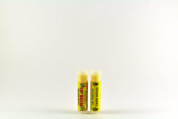 Cheery or Wintergreen Flavored Lip Balm